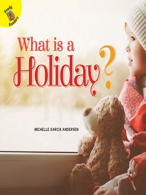 cover image of What is a Holiday?